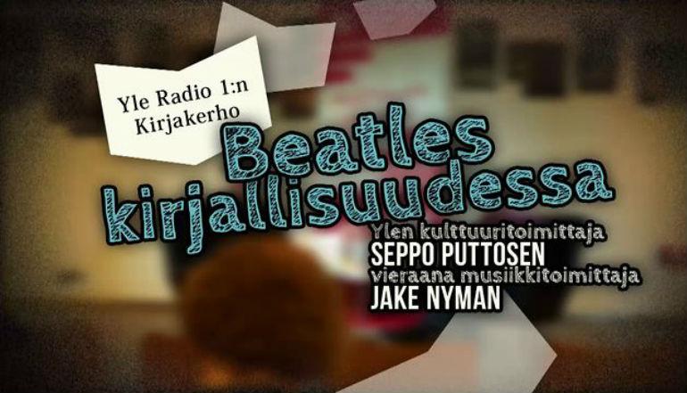 Beatles kirjallisuudessa -kirjakerho Kirjasto 10:ssä 30.11.