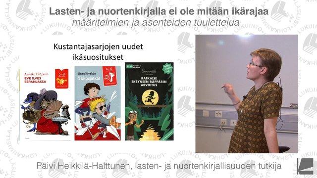 Päivi Heikkilä-Halttunen: Ikärajattomat lasten- ja nuortenkirjat - Kirjastokaista