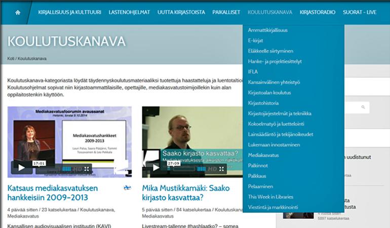 koulutuskanava_kategorianakyma