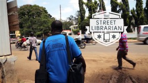 The Street Librarian (2015) documentary movie is about the work of Edward Fungo, the Regional Librarian of Morogoro.