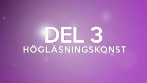 Nettas Läslustskola – DEL 3: Högläsningskonst