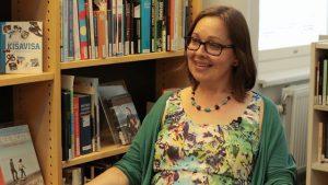 Pernilla Rein berättar om biblioteksarbete på Island