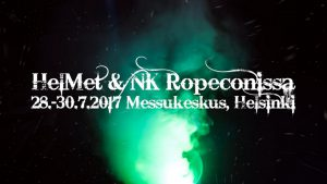 Helmet & NK goes Ropecon 2017!