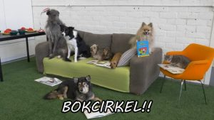 Läshunden Sylvi och bokcirkel