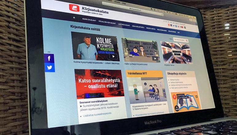 Kirjastokaista.fi:n käyttöliittymäuudistuksesta selkeyttä ja nopeutta