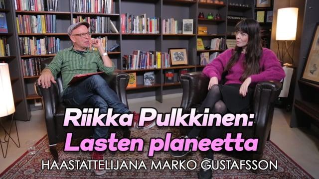 Riikka Pulkkinen: Lasten planeetta - Kirjastokaista